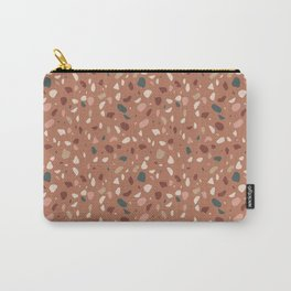 Terrazzo Pattern Carry-All Pouch