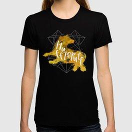 Hufflepuff Black Splatter T-shirt