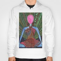 yoga Hoodies featuring yoga by mawilda