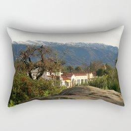 Ojai With Snow Rectangular Pillow
