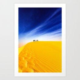surfEXPLORE Mauritania Art Print