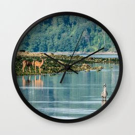 Everything is just Beachy Wall Clock