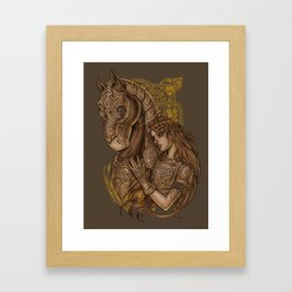 Epona Framed Art Print