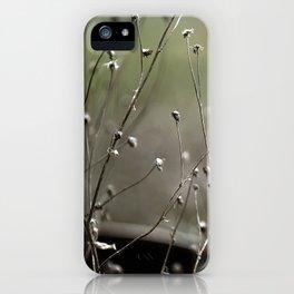 Wild Heather iPhone Case