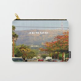 Make Jesus Famous Carry-All Pouch