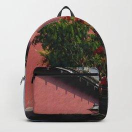 Flower Wagon, Antigua, Guatemala Backpack