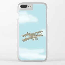 Up in the air Clear iPhone Case