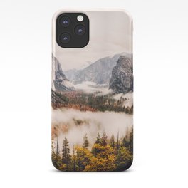 Amazing Yosemite California Forest Waterfall Canyon iPhone Case