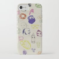 talking heads iPhone & iPod Cases featuring Heads by Craig Atkinson