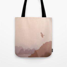 Flying High over Halong Bay Tote Bag
