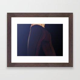 Final stage Framed Art Print