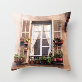 Nice France 6005 Throw Pillow