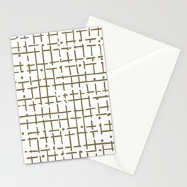 gold doodle Stationery Cards
