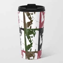 Twin Peaks Laura Palmer Pop Art Travel Mug