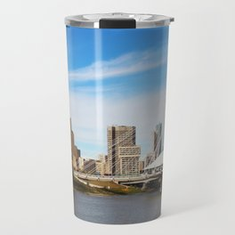 Downtown Winnipeg 2 Picture Panorama Travel Mug