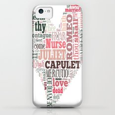 Shakespeare's Romeo and Juliet Heart iPhone 5c Slim Case