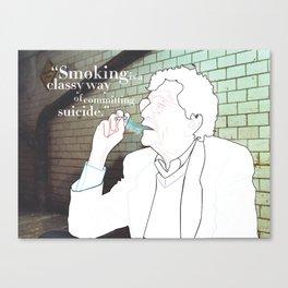 Portrait Series - Kurt Vonnegut Canvas Print