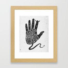 The Devil's Tools Framed Art Print