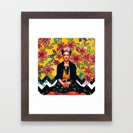 Frida Tropical Framed Art Print