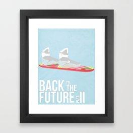 Back to the Future II Framed Art Print