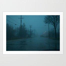 Silent Hill Mornings Art Print