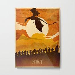 Dragon poster Metal Print