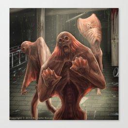 Silent Screamer Canvas Print