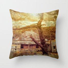 Home Among The Gums Throw Pillow
