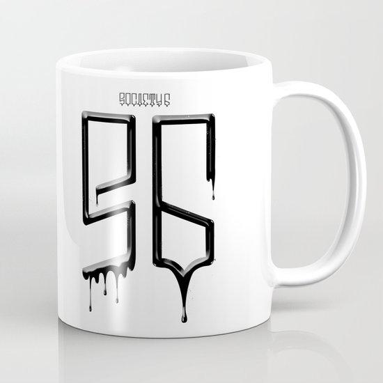 S6 TEE BLACK PAINT Mug