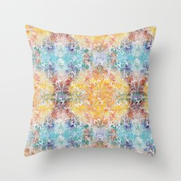 Mandala Elephant Tie dye Throw Pillow