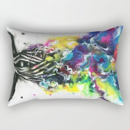 Freedom of thought Rectangular Pillow