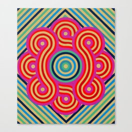 Cosmic Vibrations Within Canvas Print