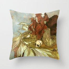 The Little Mermaid Throw Pillow