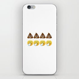 Four Shits And Giggles iPhone Skin