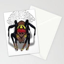 Darrell Merrill Nerd Artist Jumping Spider Stationery Cards
