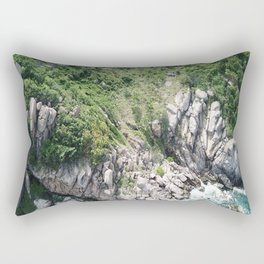 Koh Tao Bungalow Rectangular Pillow