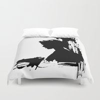 silhouette Duvet Covers featuring Silhouette by LoZaMa