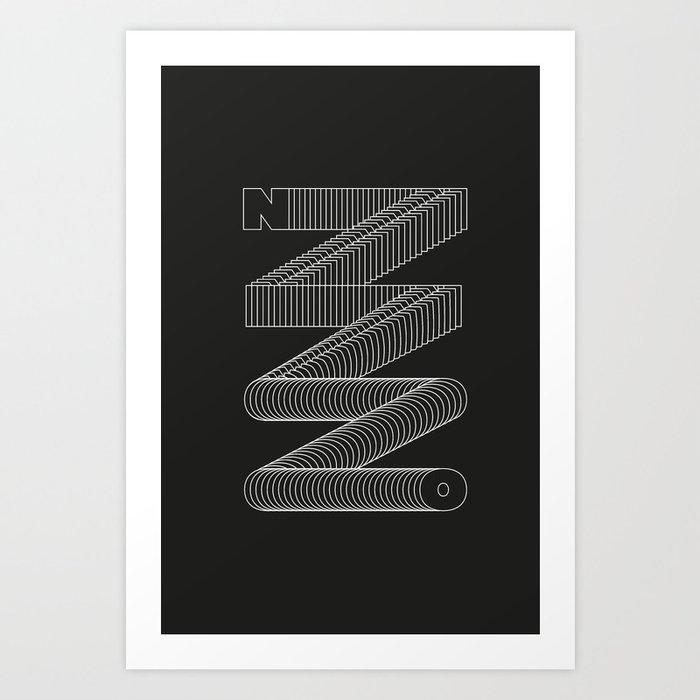 n\\\o Art Print