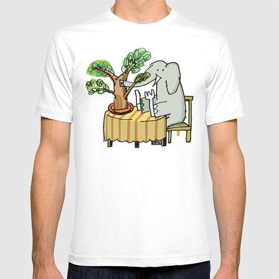 Elephants Gotta Eat T-shirt