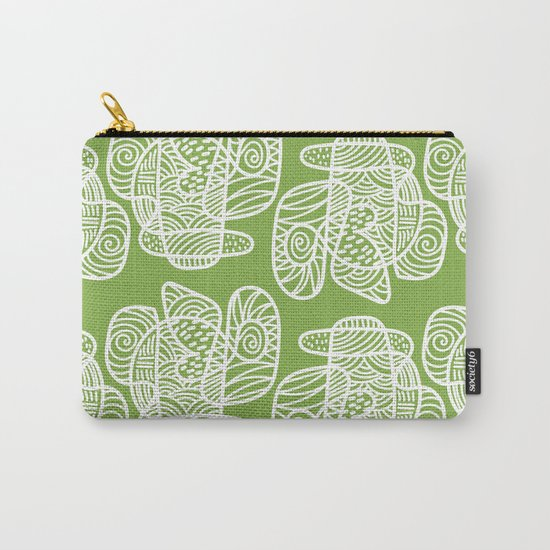 A Lot of Lines Carry-All Pouch