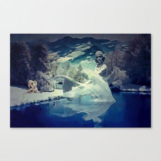 Fantasy - Only Mortal Canvas Print