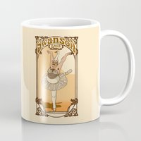 swanson Mugs featuring Swanson Lake by Rodrigo Ferreira