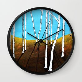 Vision Quest XX by Mike Kraus Wall Clock