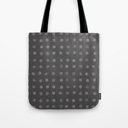 Stones by the Sea (Ebberup) acrylic dots on soft pastel background Tote Bag