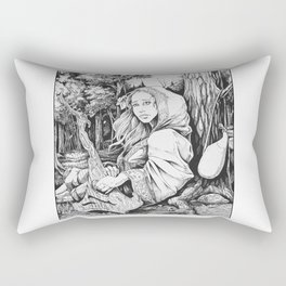 The Bard Rectangular Pillow