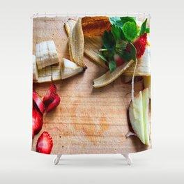 Fresh Fruit Shower Curtain