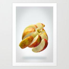 Flying Apple Art Print