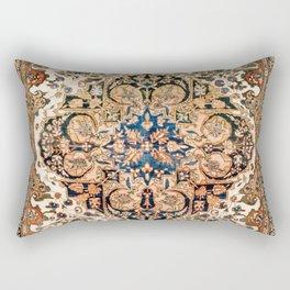 Ferahan Arak  Antique West Persian Rug Print Rectangular Pillow