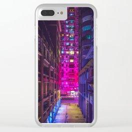 Alone in Macau Clear iPhone Case