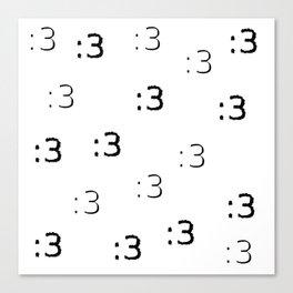 :3 Canvas Print
